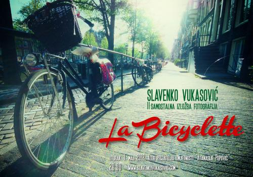 La Bicyclette plakat