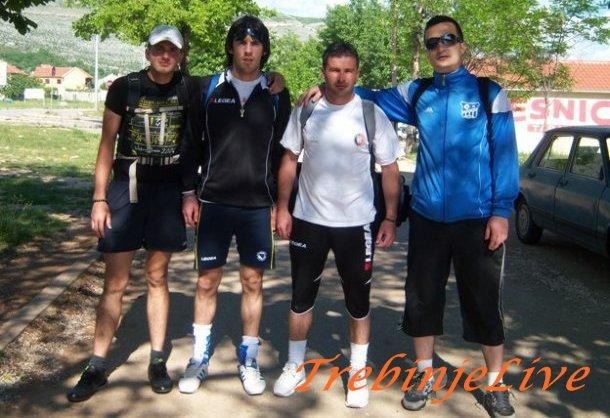 Gojko, Ljubisa, Minja i Bojan