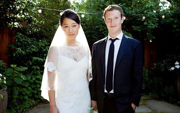 Mark Zuckerberg  i Priscilli Chan