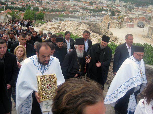 Mostar - patrijarh u posjeti Mostaru