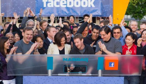 nastavljen pad akcija facebook-a