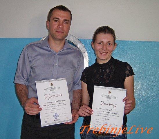 Prof. Kojevic i Dragana Rosandic