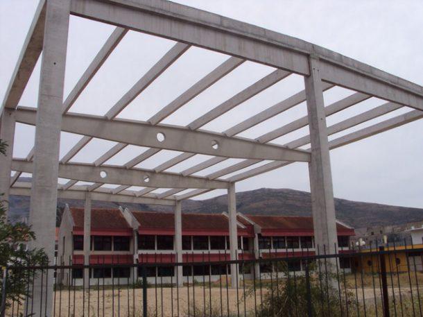 Trebinje - konstrukcija fiskulturne sale