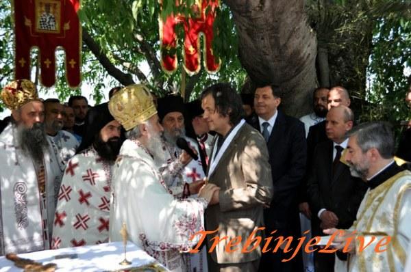 Trebinje - Patrijarh Irinej urucio Orden Kusturici