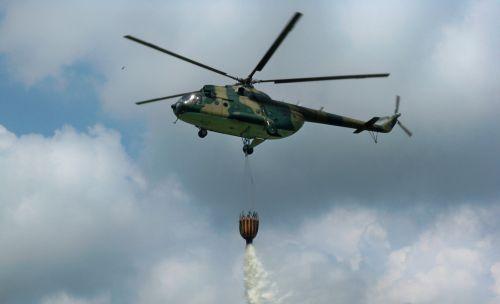 helikopter gasi pozar