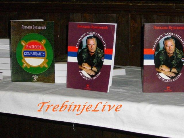 Knjiga Raport komandantu Trebinje 2012