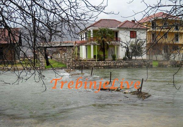 poplave ponovo prijete trebinju
