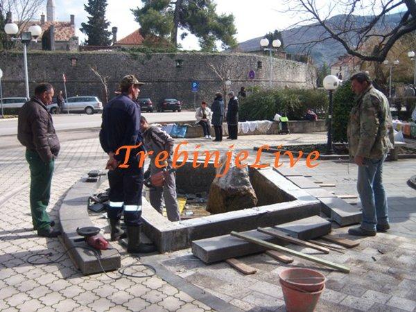 rekonstrukcija fontane (