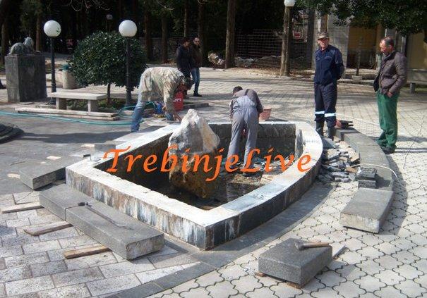 rekonstrukcija fontane