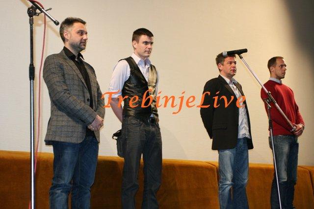 Srdan Golubović, Vuk Kostić, Nebojša Glogovac i Milan Stojanović