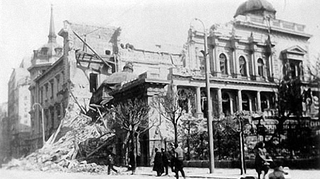 aprilsko bombardovanje
