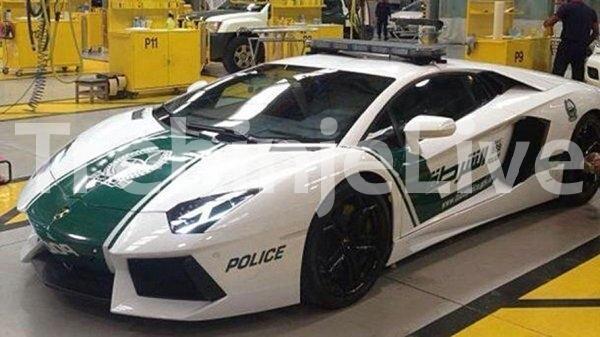 dubaji polica lambordzini