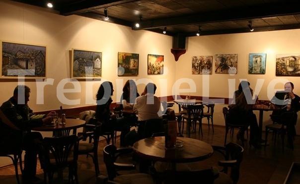 izlozba slika tanje pikula i snjezane domazet u klubu prijatelja umjetnosti u trebinju