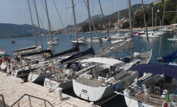 jedrilicarska regata ist 105 herceg novi