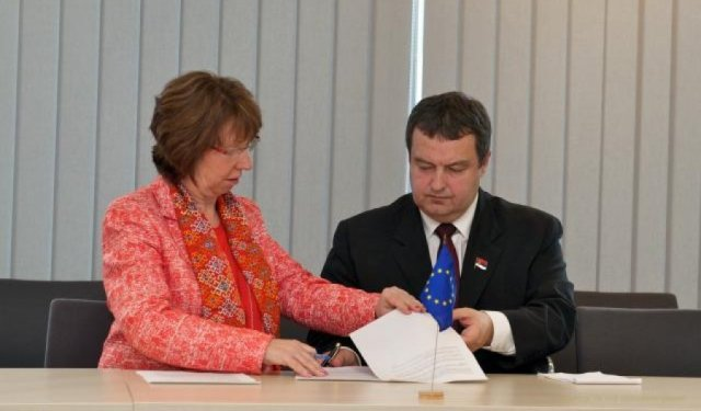 parafiran sporazum beograda i prostine o kosovu i metohiji