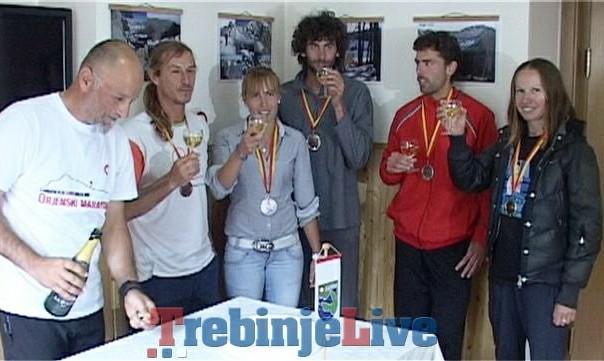 14 Orjenski maraton, pobjednici sa sampanjcem