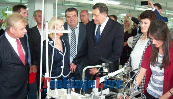 otvorena tekstilna fabrika u bileci