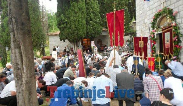 proslavljen sveti vasilije ostroski u herceg novom