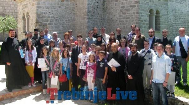 republicko takmicenje iz vjeronauke petropavlom manastir kod trebinja