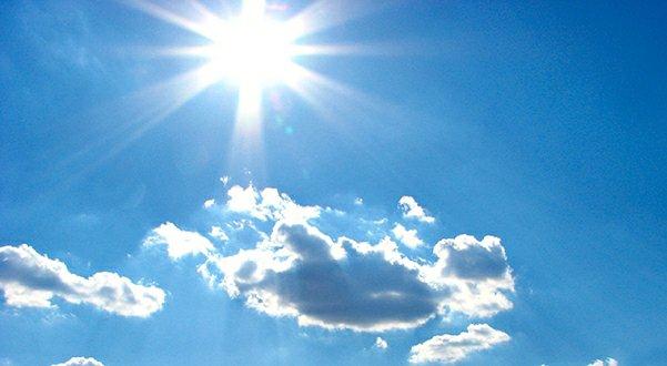 suncano i toplo vrijeme