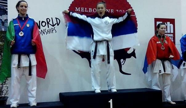 tamara lozo svjetski sampion u karateu