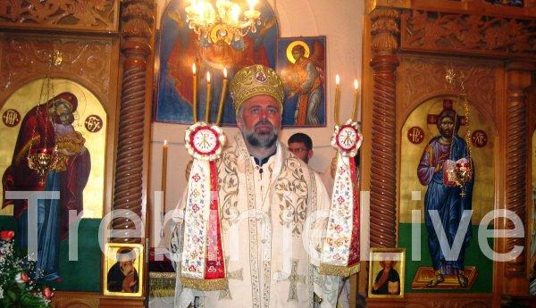 vladika grigorije sluzio vaskrsnju liturgiju u mostaru