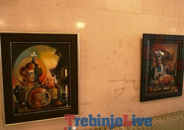 izlozba slika sase brnovica u Trebinju