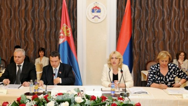 zajednicka sjednica vlada republike srpske i srbije u banjaluci