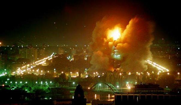 bombardovanje jugoslavije