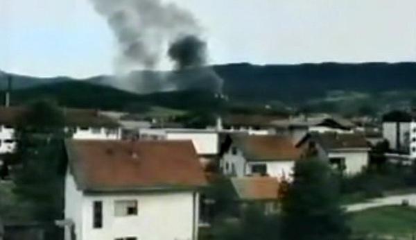 bombardovanje republike srpske 1995 godine