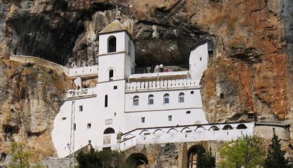 manastir ostrog sveti vasilije pojava stijene