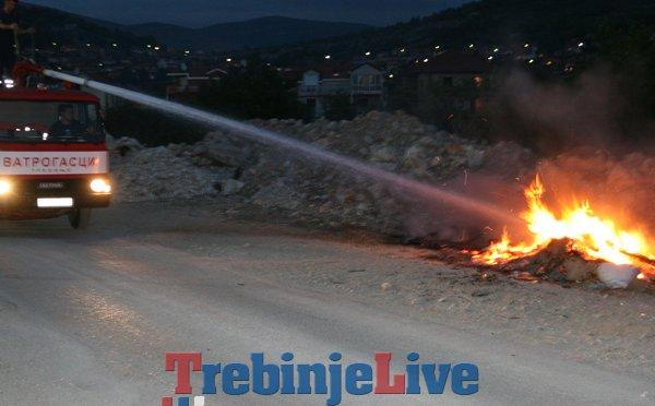 pozar smece vatrogasci gucina trebinje