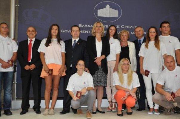 sportistima iz srpske pasosi srbije