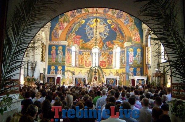 sveta liturgija saborni hram trebinje