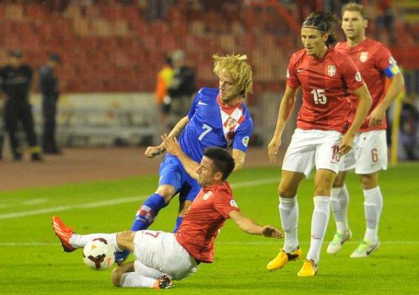 hrvatska srbija utakmica beograd marakana