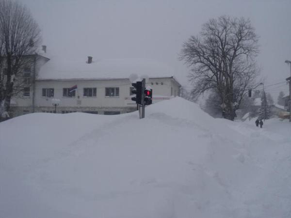 snijeg nevesinje