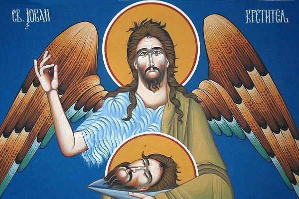 usjekovanje glave svetog jovana krstitelja
