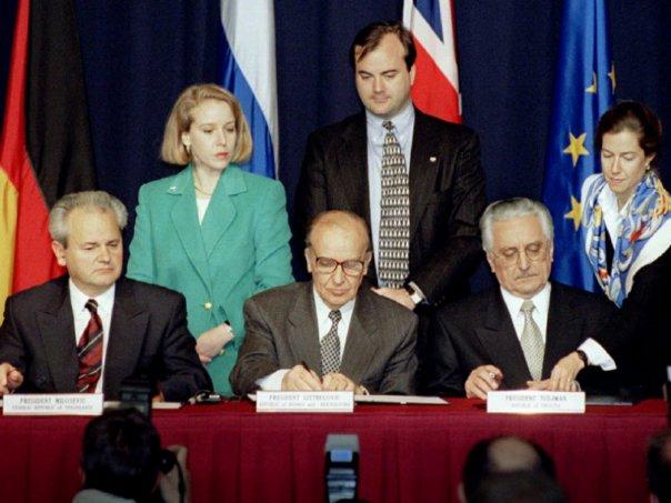 Godišnjica parafiranja Dejtonskog sporazuma
