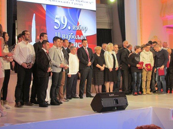 izbor najboljeg sportiste republike srpske za 2013