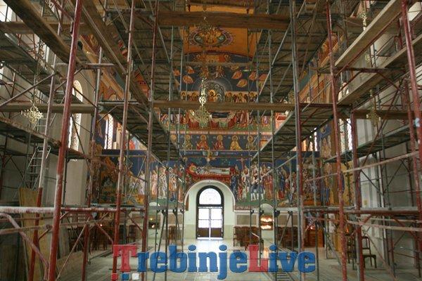 oslikavanje sabornog hrama u trebinju