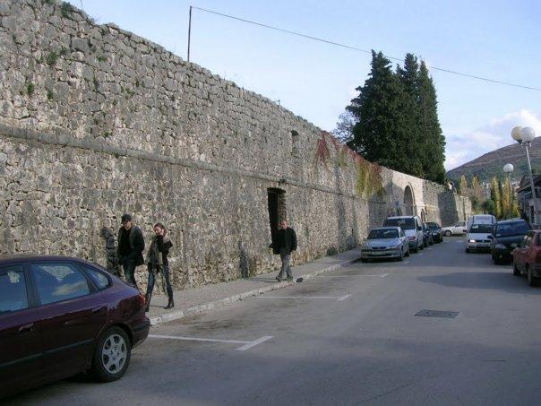 stari grad zidine trebinje