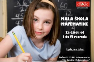 Plakat matematika krive