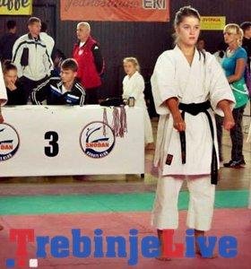 elena kozjak najbolja sportistkinja bilece za 2013 godinu