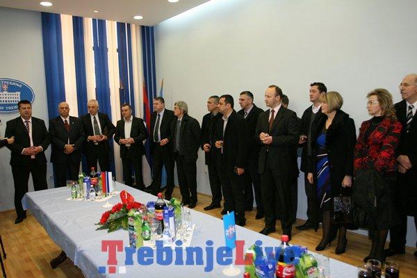 prijem kod gradonacelnika povodom dana i krsne slave republika srpske