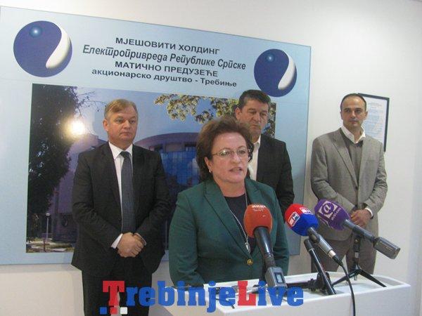 sastanak elektroprivreda rs crnogorci potopljeno zemljiste
