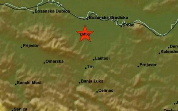 zemljotres banjaluka