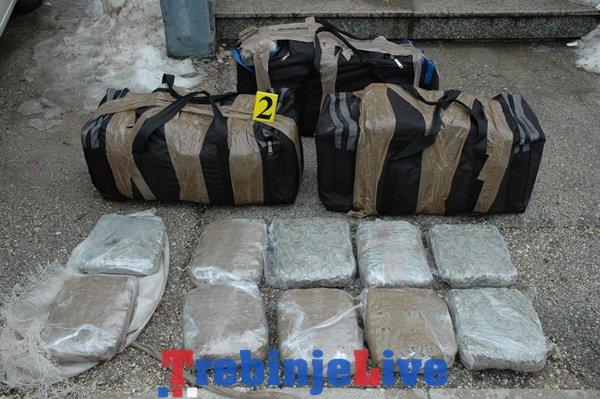 akcija maestral hercegovina uhapseni droga