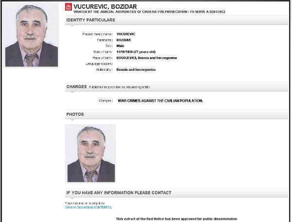 bozidar vucurevic interpol