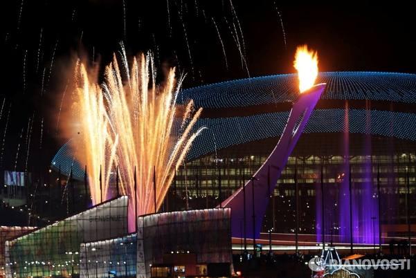 olimpijski plamen soci