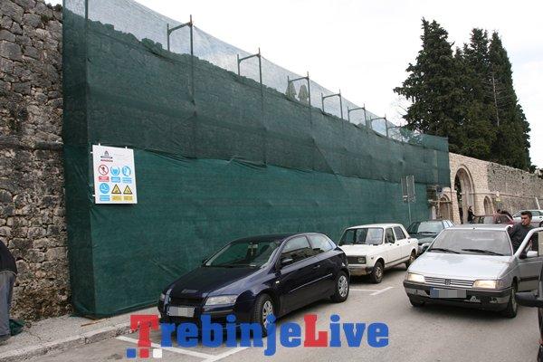 rekonstrukcija zidina starog grada trebinje